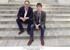"""Jewish Jocks"" co-editors Frank Foer (left) and Marc Tracy have collected more than 50 essays on notable Jewish athletes."