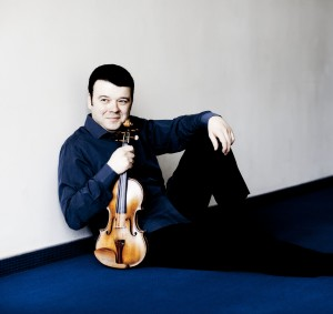 World famous Violinist Vadim Gluzman will make his debut with the Atlanta Symphony Orchestra this month. PHOTO / Marco Borggreve