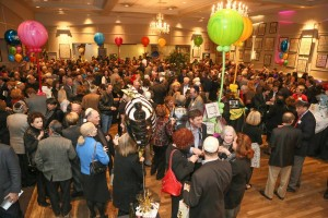 More than 1,500 people turned out to celebrate AA Synagogue's anniversary late last month. PHOTO / Ahavath Achim