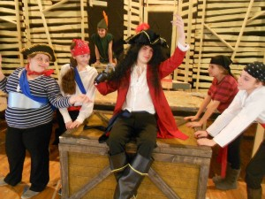 Captain Hook takes center stage at the Epstein School. PHOTO / The Epstein School