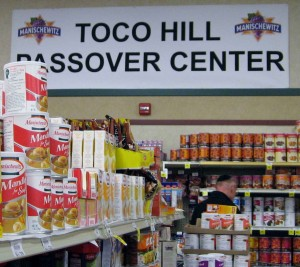 No need to suffer: These days, you can find just about anything and everything kosher for Passover at your neighborhood supermarket. PHOTO / Ron Feinberg