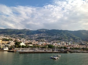 The Portuguese port of Funchal. PHOTO / Arlene Appelrouth