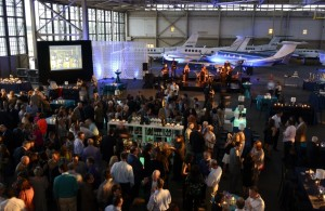 ON A JOURNEY: Supporters of the Davis Academy celebrate the schools 20th anniversary recently at a bash at The Hangar at Peachtree-DeKalb Airport. PHOTO / Davis Academy
