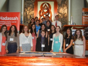 Hadassah's Chesed Student Award winners. PHOTO / Special to the AJT