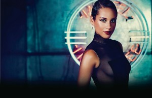 """Alicia Keys performed at Tel Aviv's Nokia Arena as part of her """"Set the World on Fire"""" tour."""