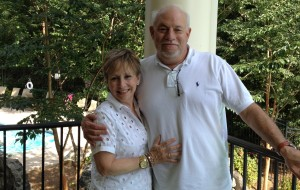It's a Kodak moment! Longtime One River Place residents, Judy and Steve Funk.