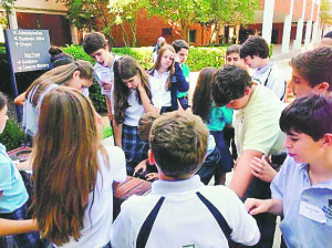 "Students from The Davis Academy and Marist got together recently for an ""interfaith"" dialogue, a program aimed at helping the youngsters understand one another while breaking down barriers."