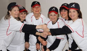 "The ""More Glory Days"" cast includes (from left) Chris Hancock, Shelley Antin, Carla Nixon, Maxine Rosen, Shari Silvers and Eileen Shaw."