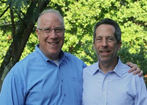 Michael and Andy SIegel for Atlanta Jewish Times