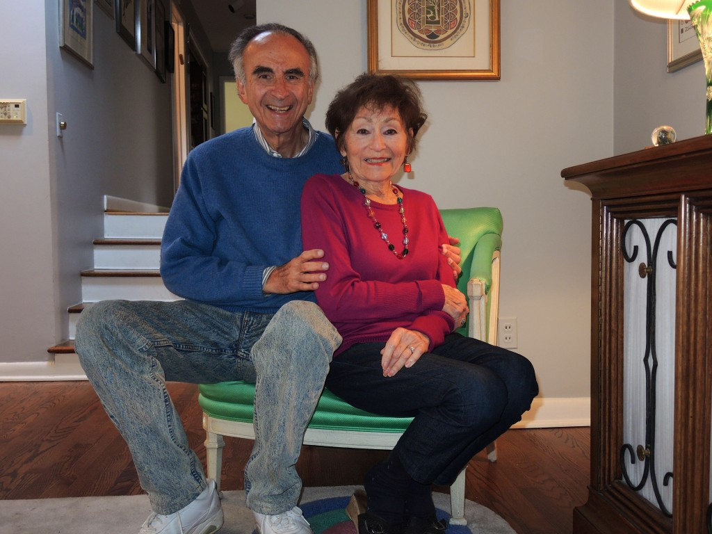 Perry and Shirley Brickman start 2015 together, as they have begun every year for six decades.