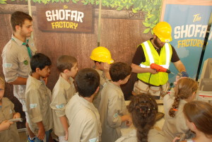 The old Shofar Factory is put through its paces last year.