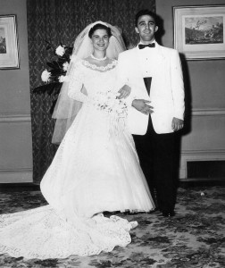 Sukey and Hymie Shemaria were married by Ashkenazi and Sephardic rabbis.