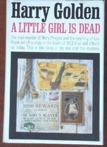 "Harry Golden's ""A Little Girl Is Dead"""