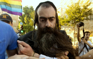Ultra-orthodox Jew Yishai Schlissel stabbed six people at a Gay Pride Parade in Jerusalem.