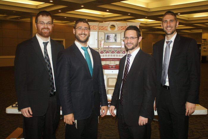 4 kollel rabbis bid farewell with kosher fair atlanta for Keeping a kosher kitchen