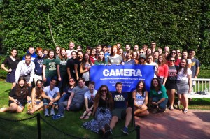 CAMERA's conference on anti-Semitism gathered students from more than 45 universities.