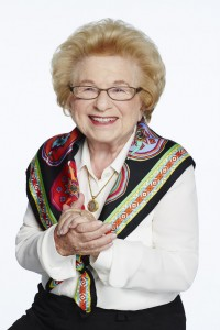 In addition to appearing at a ticketed event in conversation with Holly Firfer at the Book Festival, Dr. Ruth will speak at the Besser Holocaust Memorial Garden to commemorate Kristallnacht at 7 p.m. Tuesday, Nov. 10.