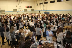 The 2015 Great Big Challah Bake at the JCC was a sold out affair.