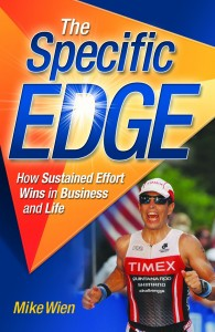 The Specific Edge By Mike Wien Self-published, 120 pages, $14.95 At the festival Nov. 8