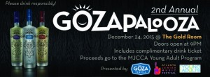 Gozapalooza is set for Dec. 24 at the Gold Room in Buckhead.