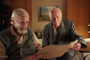 "Martin Laundau (left) and Christopher Plummer star in ""Remember."""