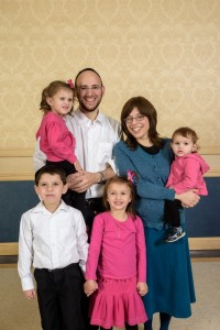 Rabbi Mayer Freedman and his dietitian wife, Shani, have four children.