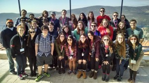 It didn't take long for former strangers to become close friends on the Birthright trip, Evan Greenberg says.