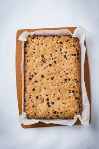 Photo by Michael Bennett Kress Paula Shoyer's Fully Loaded Cookie Bars recipe is flexible, from which ingredients you use to how you slice up the finished product.