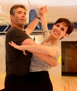 Photo by Hope Beckham Inc. Greenberg Traurig managing partner Ted Blum has used at least weekly practice sessions with Natalie Pruitt, owner of Rock Steady School of Ballroom Dance, to prepare for the Celebrity Dance Challenge.