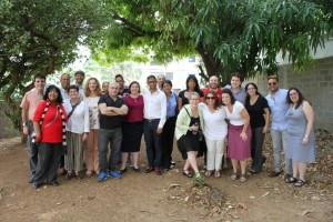 Rabbi Joshua Lesser and nine of his rabbinic colleagues visit the Dominican Republic through American Jewish World Service's Global Justice Fellowship in January.