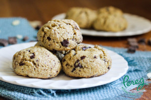 Quinoa and almond flour keep these cookies kosher for Passover.