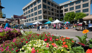 Photo by Dominion Images, Roanoke Valley CVB The historic City Market is a downtown gathering place offering an array of shops and restaurants.