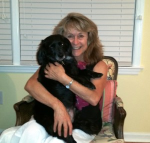 Debra Berger, the Georgia director of the Humane Society of the United States, with her dog, Sophie