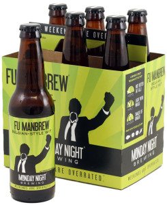Monday Night's Fu Manbrew, a Belgian-style wit, is one of six beers certified as kosher by the AKC.