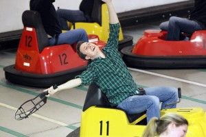 Jimmy's Mad Mad Whirled offers two Whirlyball courts.