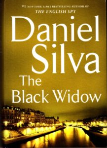 The Black Widow By Daniel Silva Harper, 544 pages, $27.99
