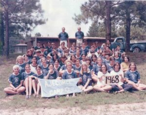 The day camp, Camp AJECOMCE, is well established by 1968, seven years after the purchase of the first 40 acres of what became Zaban Park.