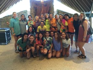 "Weber Director of Admissions Rise Arkin joins a group of Camp Barney Medintz campers this summer for a ""Why Be Jewish"" discussion. The answers ranged from ""Because it's awesome"" and ""Jews have a good military"" to ""Tradition"" and ""Community."""