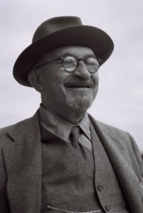 Photo by Hugo Mendelson via Government Press Office Chaim Weizmann, shown in 1949, was a scientist long before becoming Israel's first president.