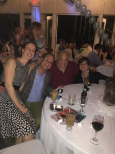 Eric Robbins and his wife, Ana, join Bobby Harris and his wife, Ellen, for some communal fun.