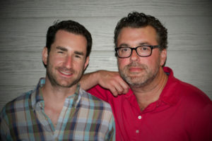 Farm to Ladle partners Shaun Winters (left) and Geoff Melkonian
