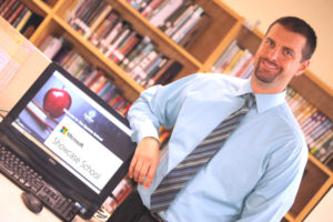 Aaron Griffin is Epstein's principal of digital learning and technology.