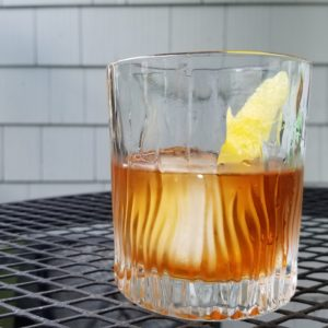 Replacing whiskey with rum makes the old-fashioned new again.