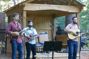 Local bluegrass duo The Cohen Brothers Band performs with Sammy Rosenbaum at Bluegrass Shabbat Sept. 16.