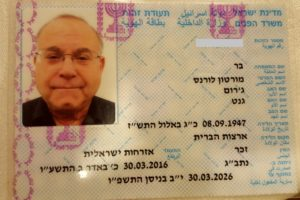 Within three months of making aliyah, Mort Barr had his teudat zehut, his Israeli identity card.