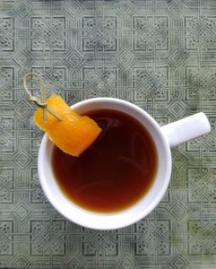Pick your favorite liquor to give the Honey-Orange Hot Toddy its kick.
