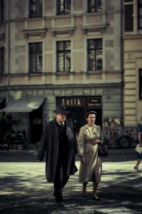 "Brendan Gleeson and Emma Thompson resist the Nazi regime one postcard at a time in ""Alone in Berlin."""