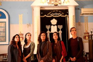 "The women of a Jerusalem shul just want their place back in ""The Women's Balcony."""