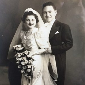 Helen and Irving Lipsky wed two weeks after the Japanese attack on Pearl Harbor.