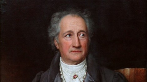 The end of an era. Johann Wolfgang von Goethe.